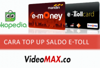 cara top up saldo e-toll via tokopedia