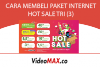paket internet hot sale tri 3