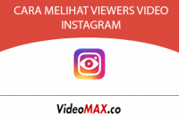 CARA MELIHAT VIEWERS VIDEO INSTAGRAM